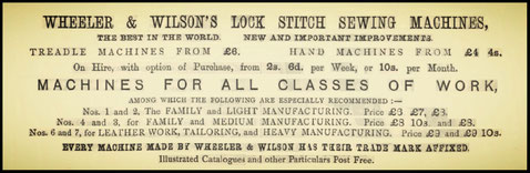 Advertisement  November 1878