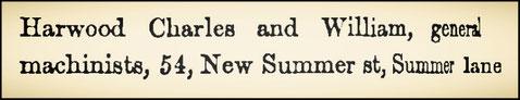 1858  Birmingham Directory