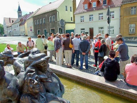 Besuch aus Hirschau