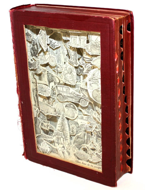 Vintage Dictionary by Julie Strand