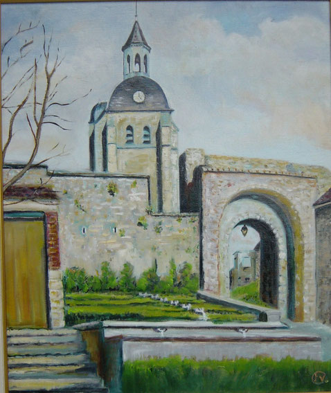 St JEAN,la porte, la Fontaine