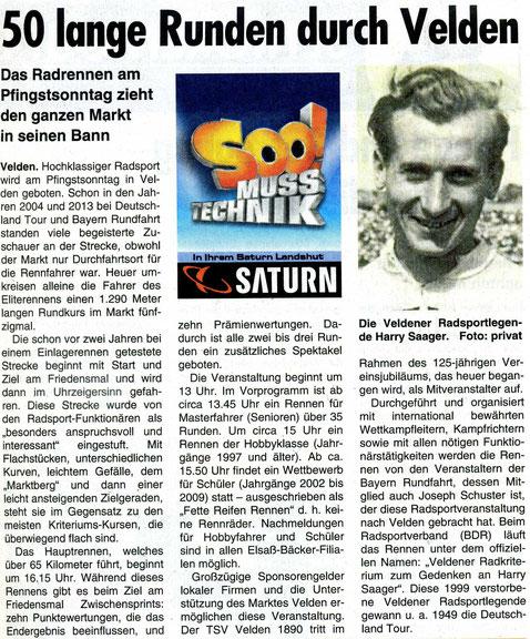Quelle: Landshuter Wochenblatt 20.05.2015