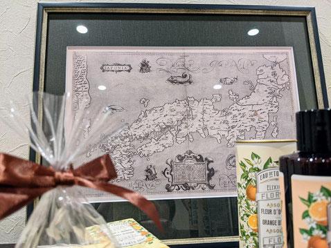 ブランクスモレイラの日本地図