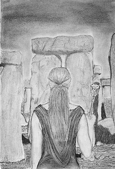 Stonehenge Jungsteinzeit Schamanismus Druiden Kelten CQM Quantenheilung Ritual Riten Zeremonie Zeremoniell Steinkreis die Kriegern