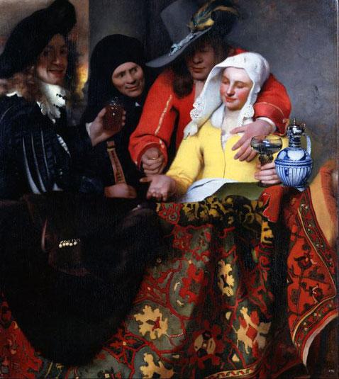 10 знаменитых шедевров Яна Вермеера - Сводница