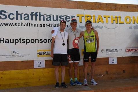 3. Platz hinter van Berkel & Lowiner