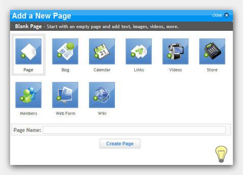 Neue Seite hinzufügen