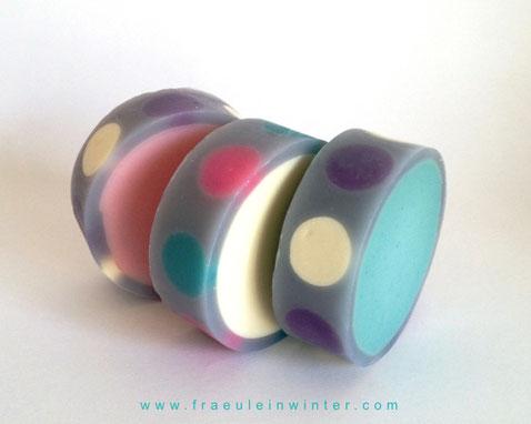 Rimmed Soap - Handmade soap by Fräulein Winter