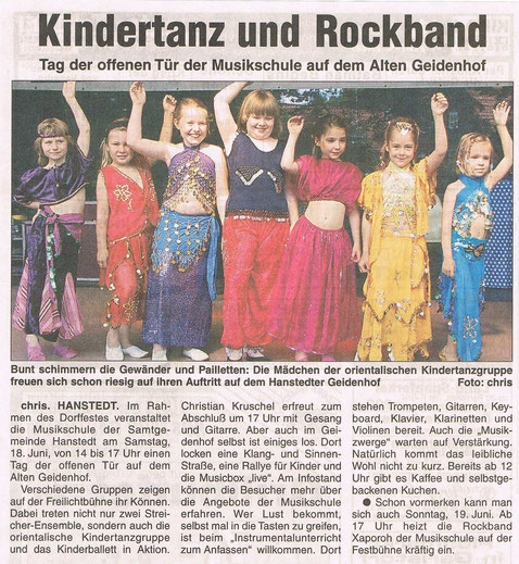 Nordheide Wochenblatt 15.06.2005