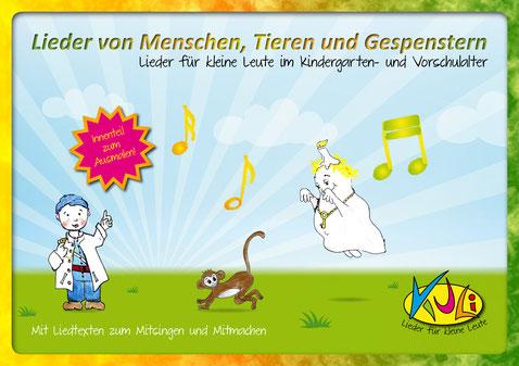 CD Lieder von Menschen, Tieren und Gespenstern