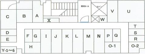 トランクルーム配置図