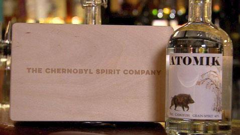Atomik Chernobyl vodka