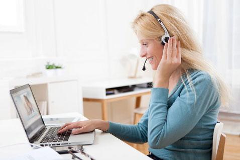 オンラインコース Skypeセッション
