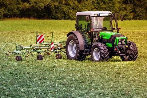 Traktor klein