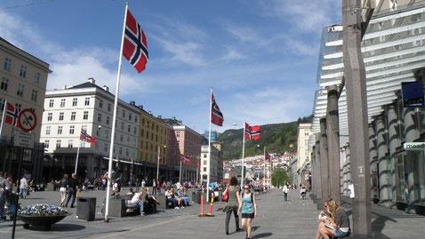 Haupteinkaufsstrasse Torgalmenningen