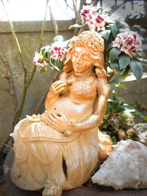 彫塑 炎と楽園のアート 立花雪 YukiTachibana