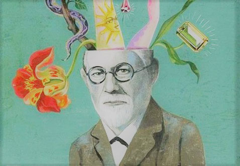 Sigmund Freud Pop Art