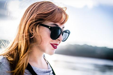 Eine Sonnenbrille der Kategorie 3 oder 2