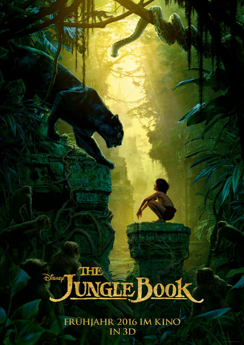 The Jungle Book - Disney - kulturmaterial - Plakat Poster