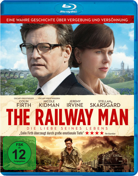 The Railway Man Blu-ray DVD - Koch Media - kulturmaterial - Fan Artikel Gewinnspiel