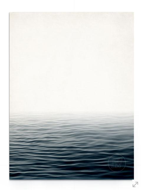 """""""Misty Sea""""- Abstrakte Fotografie von Meer und Wellen bei Nebel."""