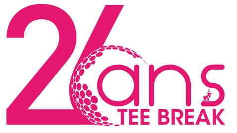 Logo pour la 26ème édition du Tee Break