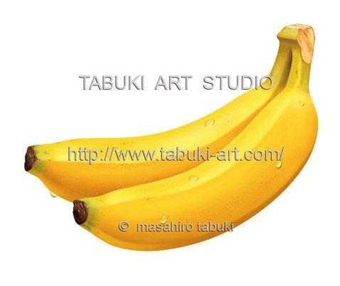 バナナ水滴 RD1253