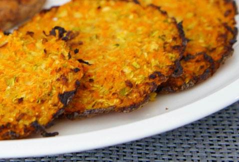 Gemüsepuffer | low carb & schnell zubereitet