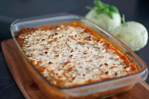 Kohlrabi Lasagne | low carb & clean