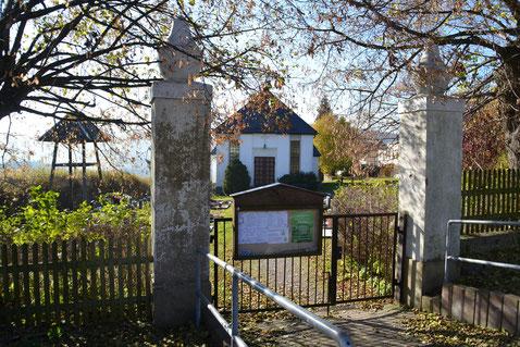 Bild: Teichler Friedhof Wünschendorf Erzgebirge