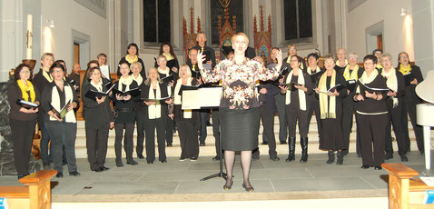Gospel-Konzert  in der Pfarrkirche Grosswangen, 18. November 2016