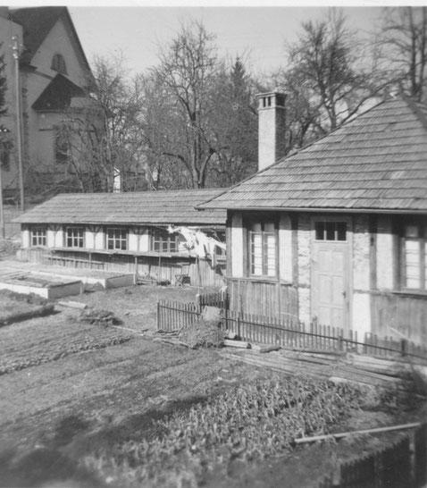 Kegelbahngebäude 1937/38