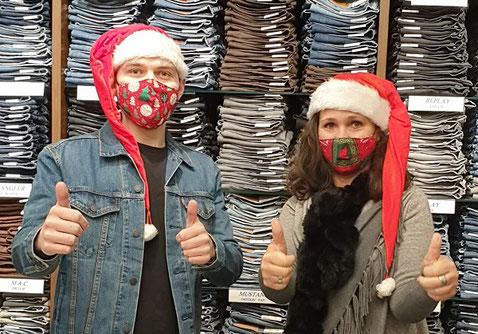 Jeansshop 33 Team Weihnachtsgruss