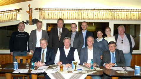 Das Team des Ortsverbandes Dürwiß_Foto: Christian Ebener