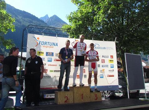 Die Sportklasse: Gotthard Nössig, Bernhard Schwarzl und Andreas Fischer