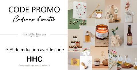 petit mariage entre amis code promo