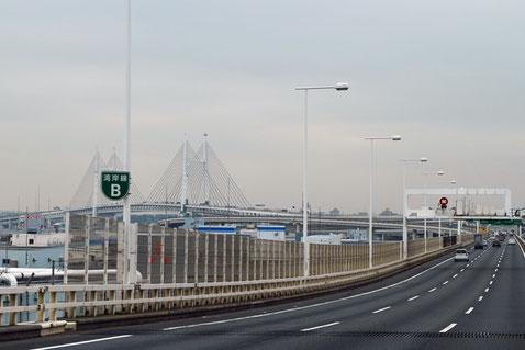 横浜ベイブリッジ 開通してもう30年近くになるんだね
