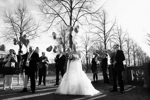 Hochzeit Schloss Philipssruhe Hanau, Hochzeitsfotograf Hanau, Hochzeitsfotograf Schloss Philippsruhe; Hochzeit Weisser Saal Schloss Philippsruhe Hanau