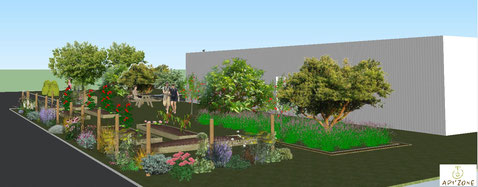 Projet jardin API'zone