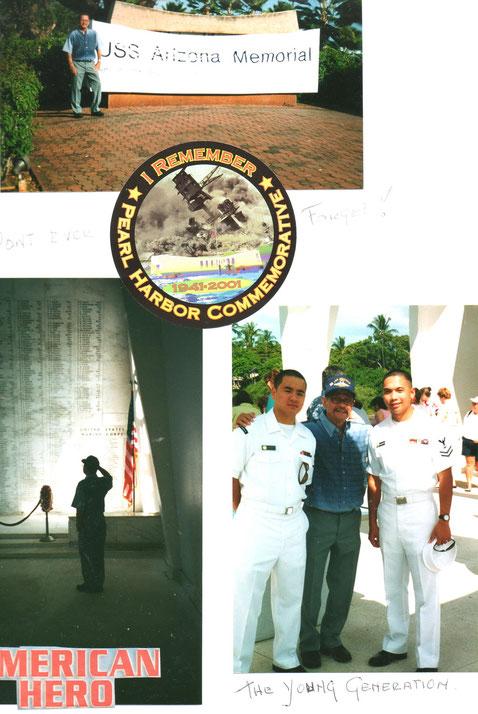 Herdenken... Pearl Harbour...
