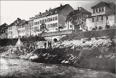 Der Fischerrain 1876