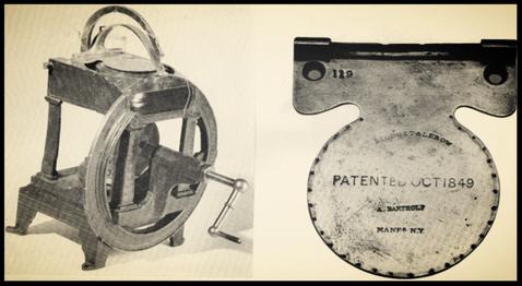 Fig. 20 - Blodgett & Lerow sewing machine, 1850
