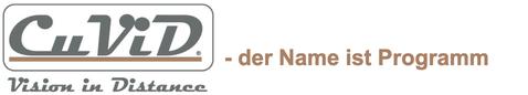 CuViD_Vision_in_Distance_Logo_Der_Name_ist_Programm