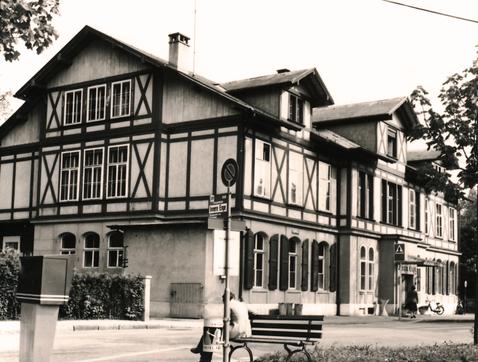 Inner Enge House in Bern, 1954