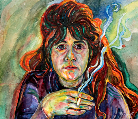 Self-Portrait, 1977