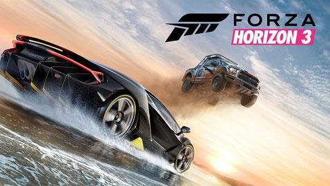 Forza Horizon 3 disponible ici.