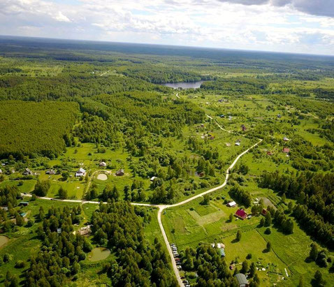 Rodnoe祖傳家園聚落,位於弗拉基米爾區