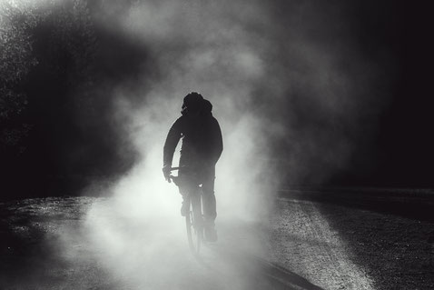 Das Giant Revolt E+ im Nebel
