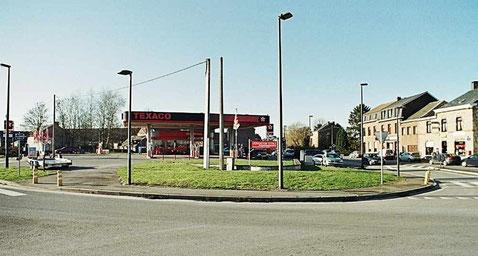 La station Texaco en janvier 2009