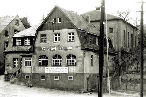 Der Gasthof um 1958